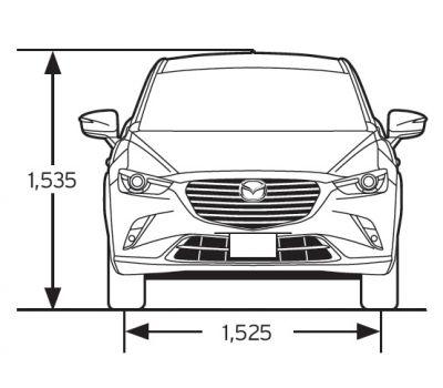 Mazda Cx 3 Abmessungen Technische Daten Lange Breite Hohe Gepackraumvolumen