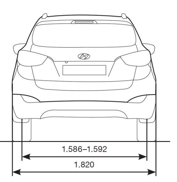 Hyundai Ix35 Abmessungen Amp Technische Daten L 228 Nge