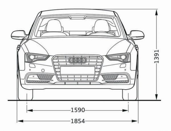 Audi A5 Sportback Abmessungen Amp Technische Daten L 228 Nge