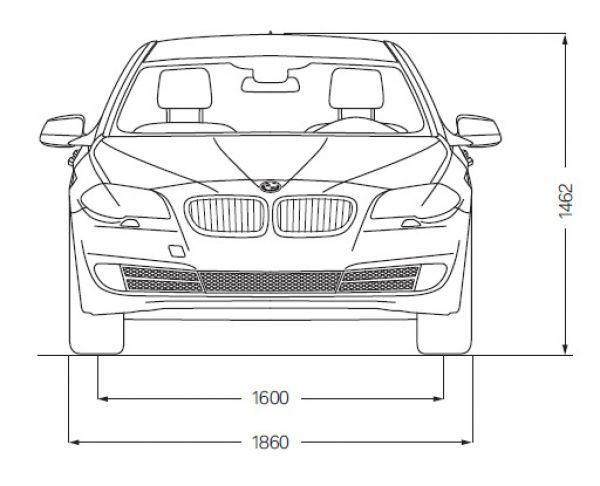 Bmw 5er touring f11 abmessungen technische daten for Mazda 5 breite mit spiegel