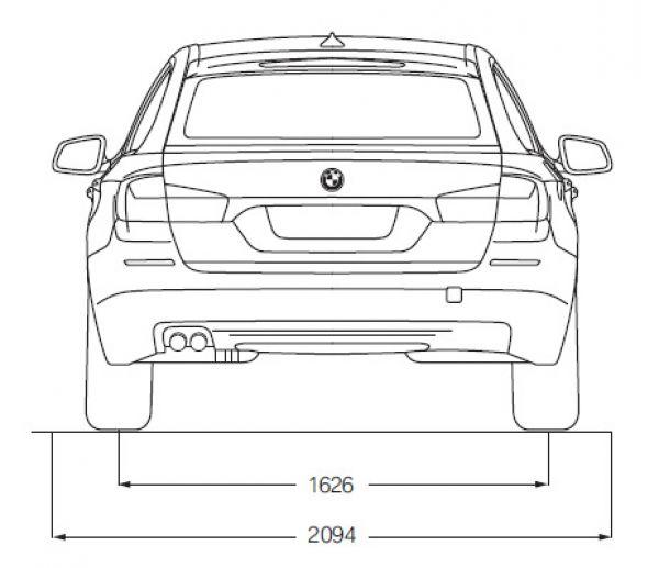 BMW 5er Touring (F11) - Abmessungen & Technische Daten ...