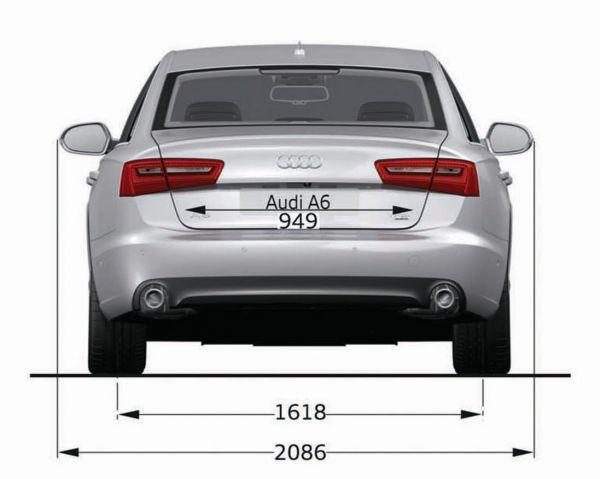 Audi a6 c7 abmessungen technische daten l nge for Audi a6 breite mit spiegel