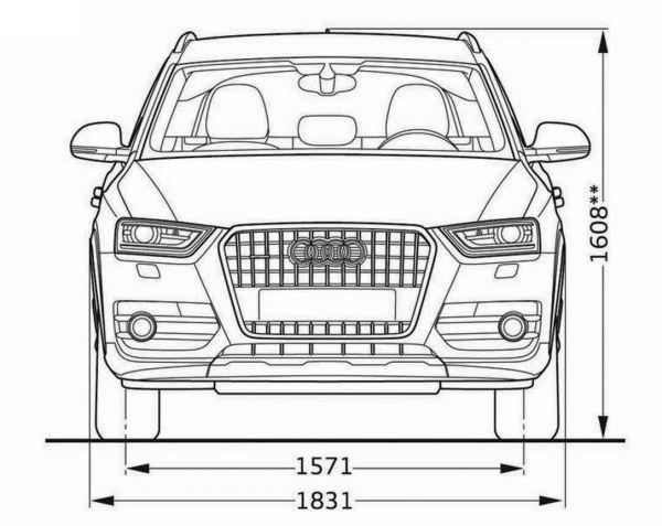 Audi Q3 Abmessungen Amp Technische Daten L 228 Nge Breite