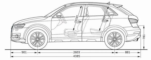 Audi Q3 Abmessungen Technische Daten Länge Breite Höhe
