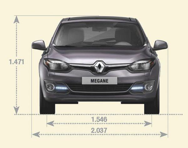 Renault Megane Abmessungen Amp Technische Daten L 228 Nge