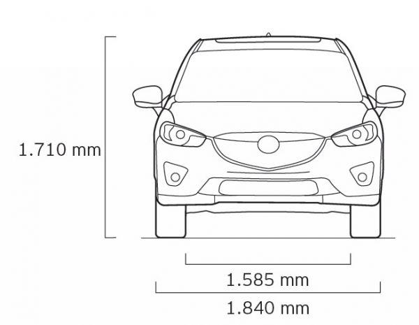 Mazda Cx 5 Abmessungen Technische Daten Länge Breite Höhe
