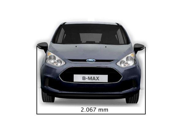 Ford B Max Abmessungen Amp Technische Daten L 228 Nge