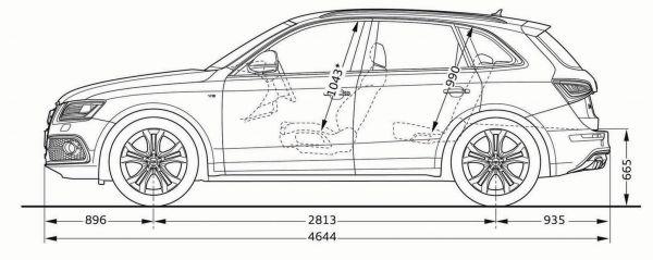 Audi Sq5 Abmessungen Amp Technische Daten L 228 Nge Breite