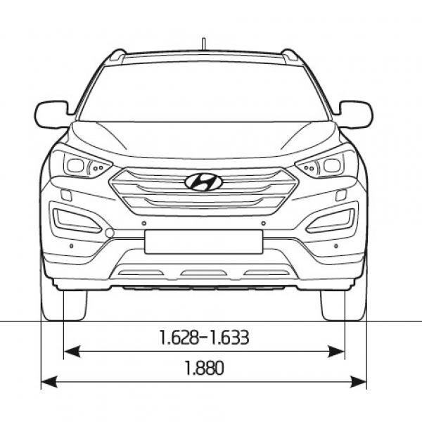 Hyundai Santa Fe - Abmessungen & Technische Daten - Länge ...