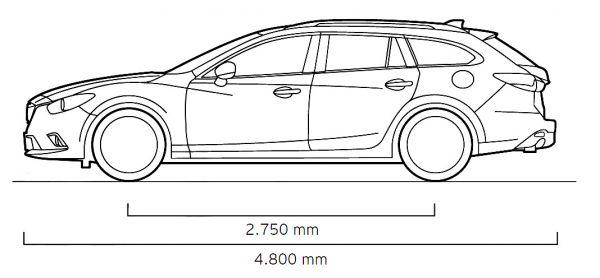 Mazda Mazda6 Kombi 2013 Abmessungen Amp Technische Daten