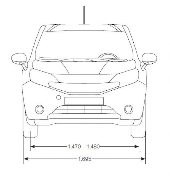 Nissan Note 2013 Abmessungen Technische Daten L Nge