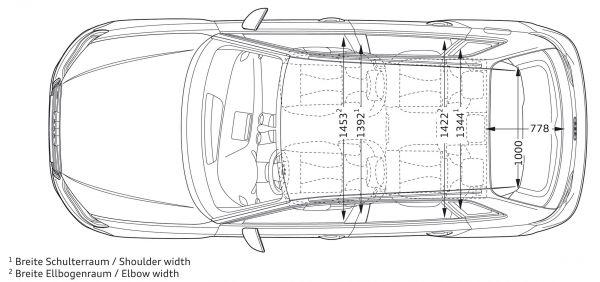audi s3 sportback abmessungen technische daten l nge. Black Bedroom Furniture Sets. Home Design Ideas