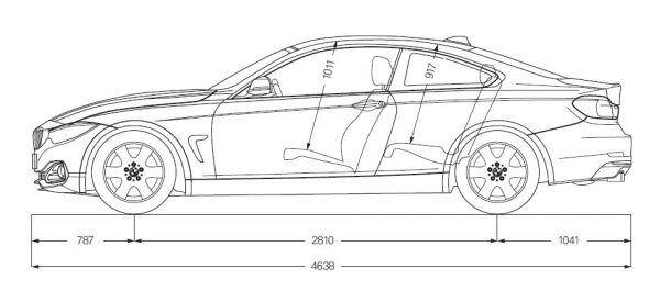 Bmw 4er Coupe F32 Abmessungen Amp Technische Daten