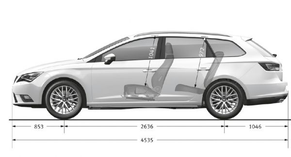 Seat Leon St 2014 5f Abmessungen Amp Technische Daten