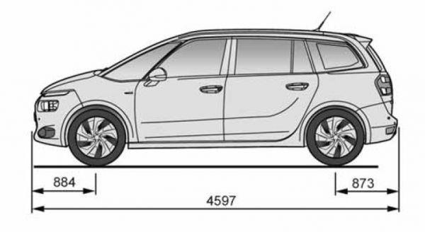 mazda citroen grand c4 picasso abmessungen technische daten 5 minivan 3rd generation 5 mazda. Black Bedroom Furniture Sets. Home Design Ideas