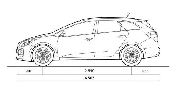 Kia cee'd Sportswagon - Abmessungen & Technische Daten ...