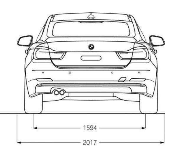 BMW 428I Coupe >> BMW 4er Gran Coupe (F36) - Abmessungen & Technische Daten ...