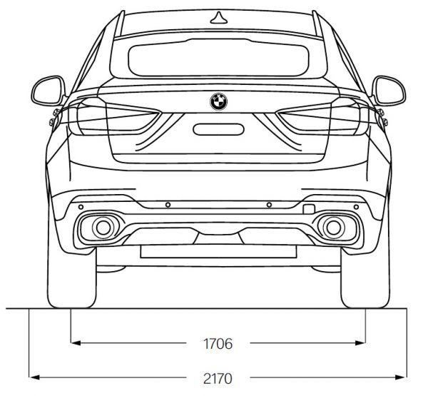 Bmw x6 f16 abmessungen technische daten l nge for Breite golf 6 mit spiegel