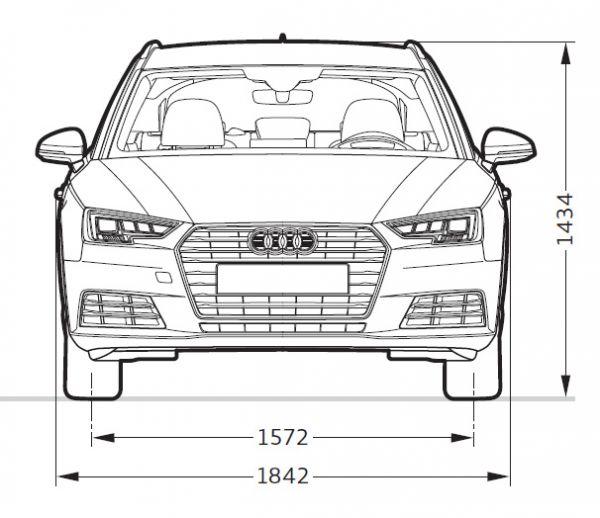 Audi A4 Avant B9 Abmessungen Technische Daten Länge Breite