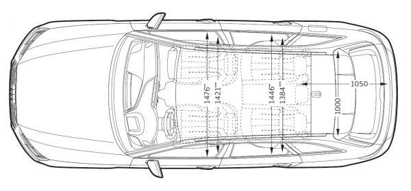Audi a4 avant b9 abmessungen technische daten for Audi a4 breite mit spiegel