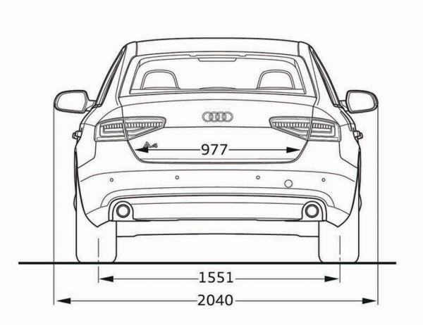 Audi a4 b8 abmessungen technische daten l nge for Audi a6 breite mit spiegel