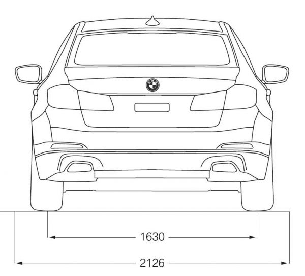 bmw 5er limousine g30 abmessungen technische daten. Black Bedroom Furniture Sets. Home Design Ideas