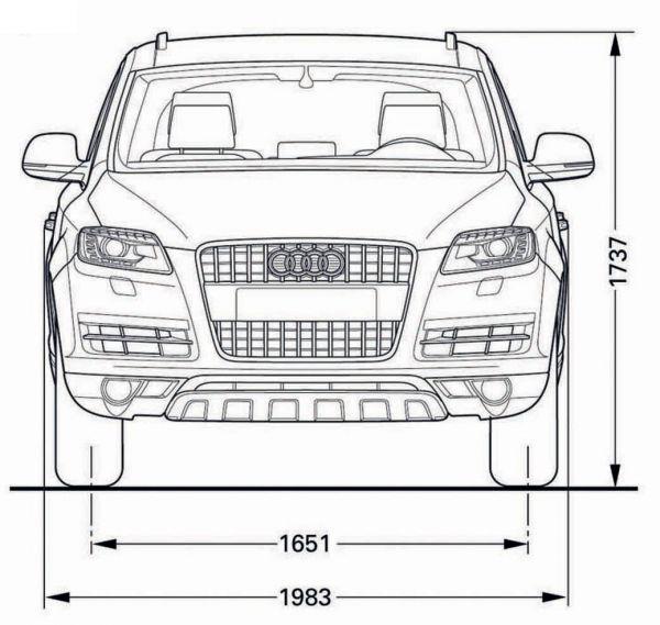 Audi Q7 Abmessungen Amp Technische Daten L 228 Nge Breite