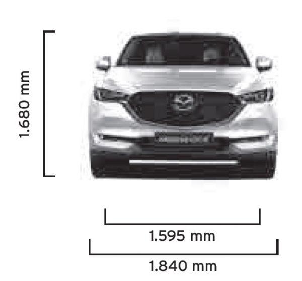 Mazda Cx 5 Awd >> Mazda CX-5 2017 - Abmessungen & Technische Daten - Länge ...