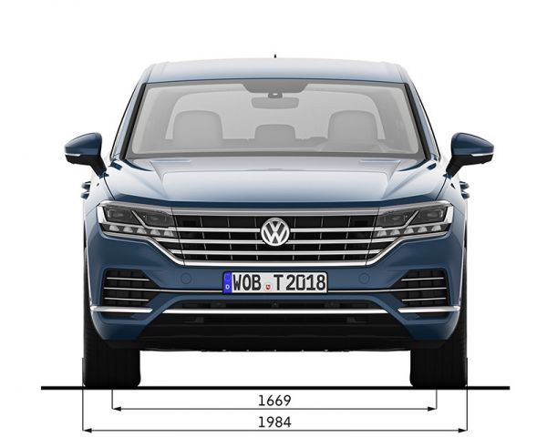 vw touareg iii abmessungen technische daten l nge. Black Bedroom Furniture Sets. Home Design Ideas