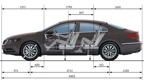 Audi a4 avant 2014 dimensions 15