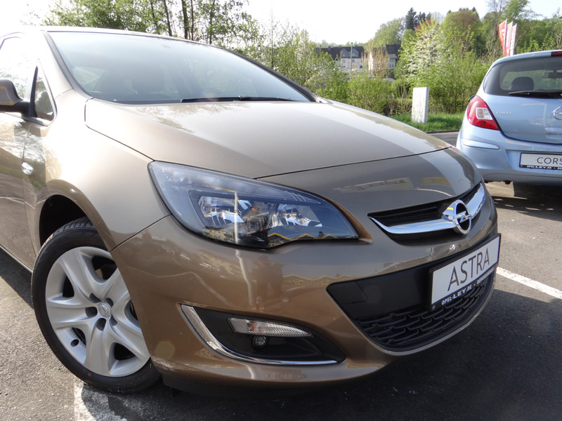 Opel Astra J Champagner Farben Opel Astra J
