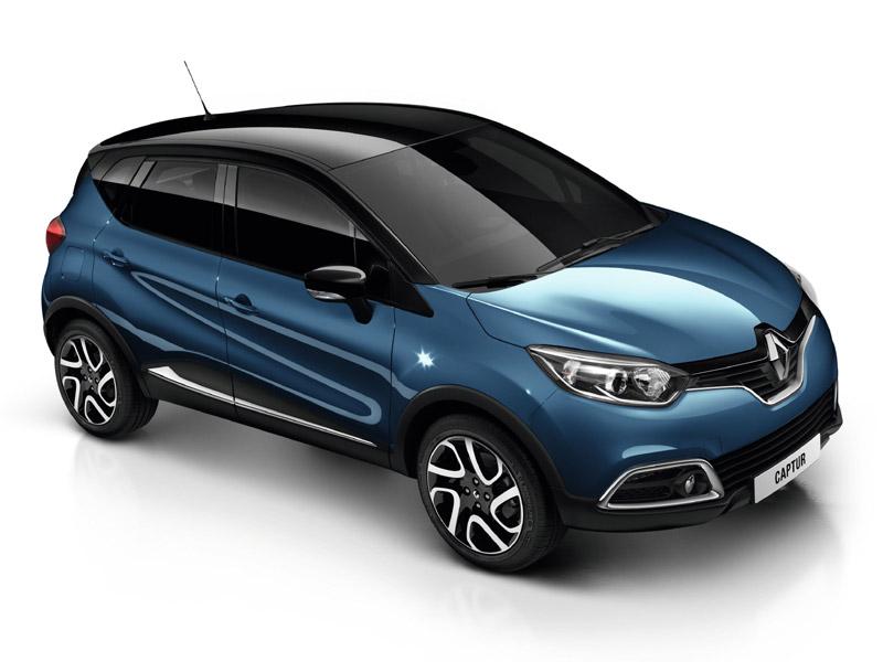 Renault Captur Rauch Blau Farben Renault Captur
