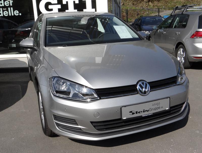 VW Golf Cabrio Tungsten Silver - Farben VW Golf Cabrio