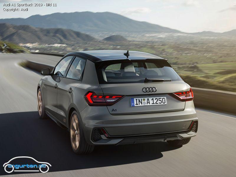 Audi A1 Sportback 2019 Manhattangrau Metallic Farben