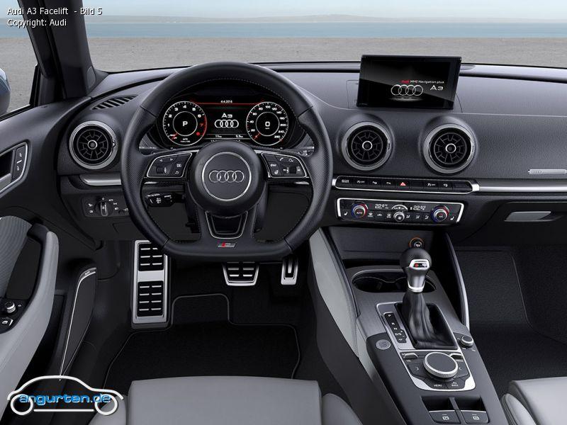 Foto Audi A3 Facelift Bild 5 Bilder Audi A3 Facelift