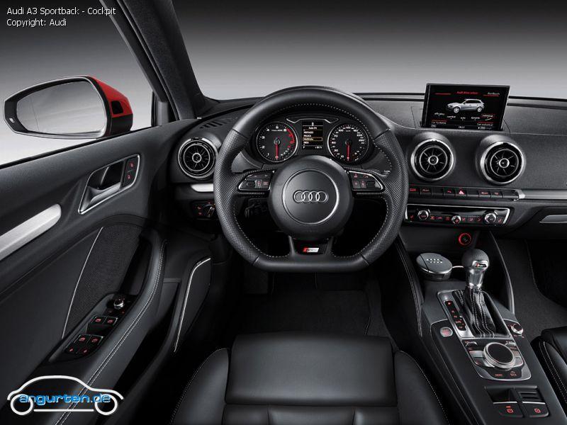 Foto Audi A3 Sportback Cockpit Bilder Audi A3