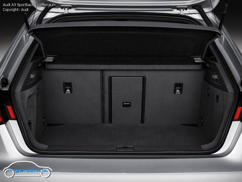 Foto Bild Audi A3 Sportback Kofferraum Angurten De