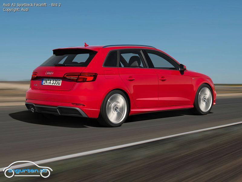 Foto Audi A3 Sportback Facelift Bild 2 Bilder Audi A3