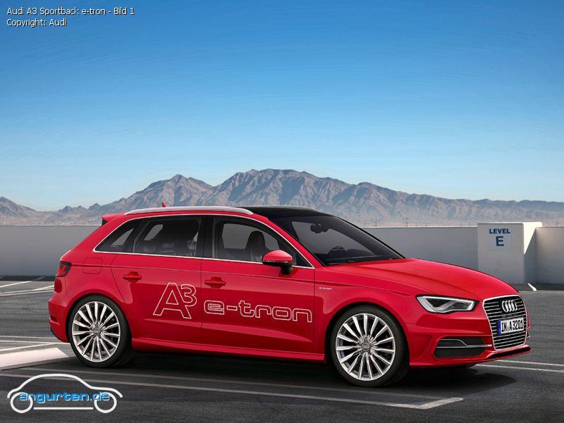 Foto Audi A3 Sportback E Tron Bild 1 Bilder Audi A3