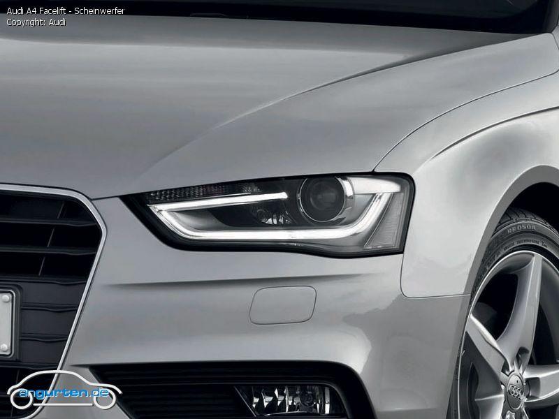 Foto Audi A4 Facelift Scheinwerfer Bilder Audi A4