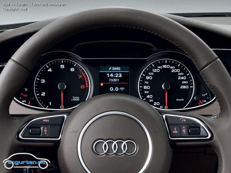 Foto Bild Audi A4 Facelift Tacho Und Armaturen