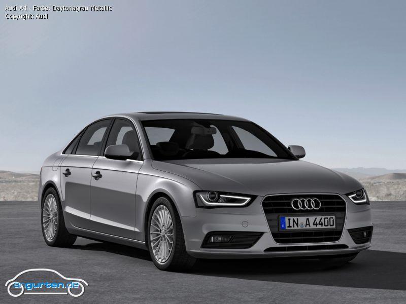 Audi A4 Daytonagrau Perleffekt Farben