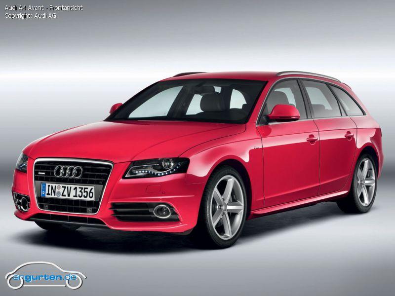 Foto Audi A4 Avant Frontansicht Bilder Audi A4 Avant