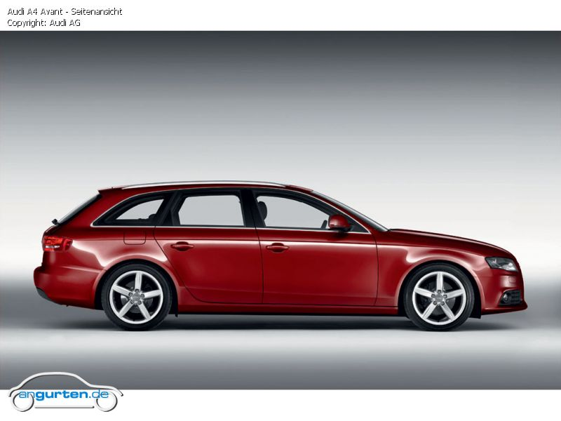 Foto Audi A4 Avant Seitenansicht Bilder Audi A4 Avant