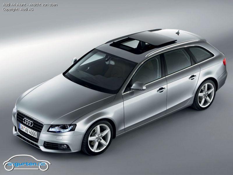 Foto Audi A4 Avant Ansicht Von Oben Bilder Audi A4