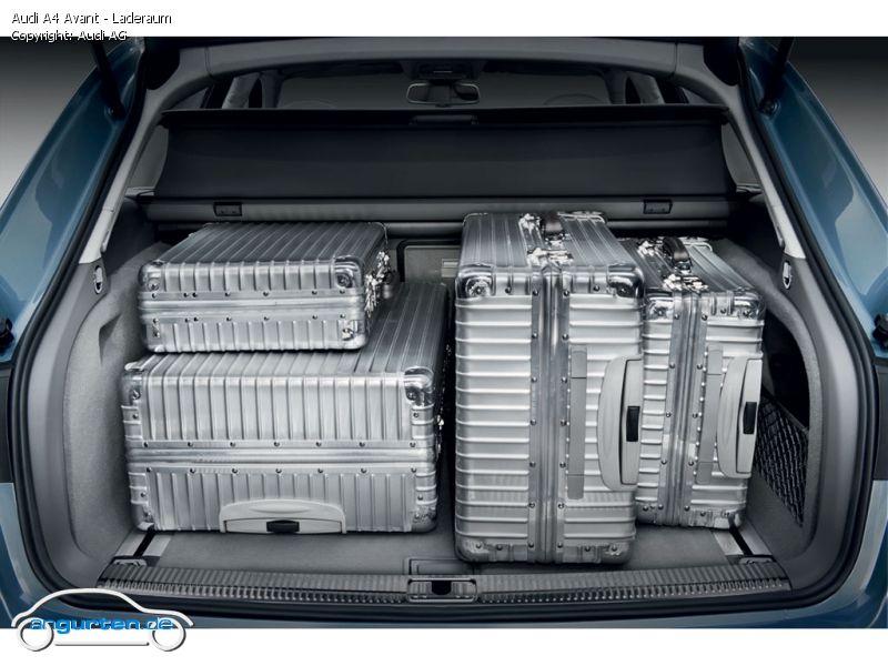 Foto Audi A4 Avant Laderaum Bilder Audi A4 Avant 2010