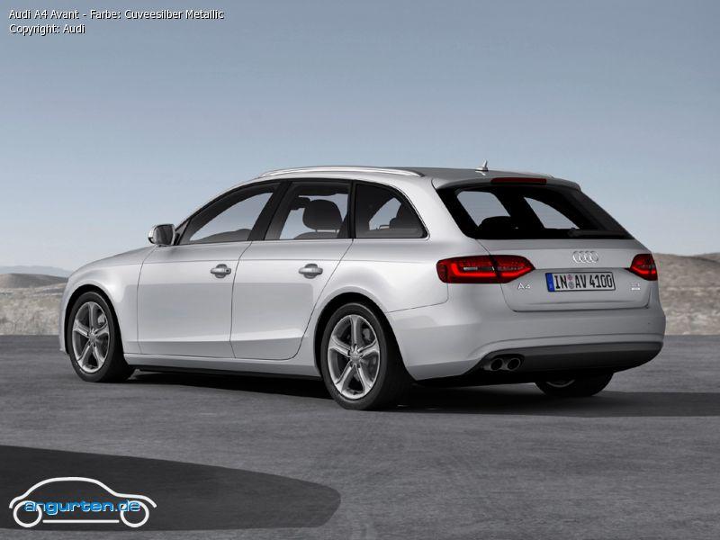 Audi Q3 Cuveesilber Metallic Farben