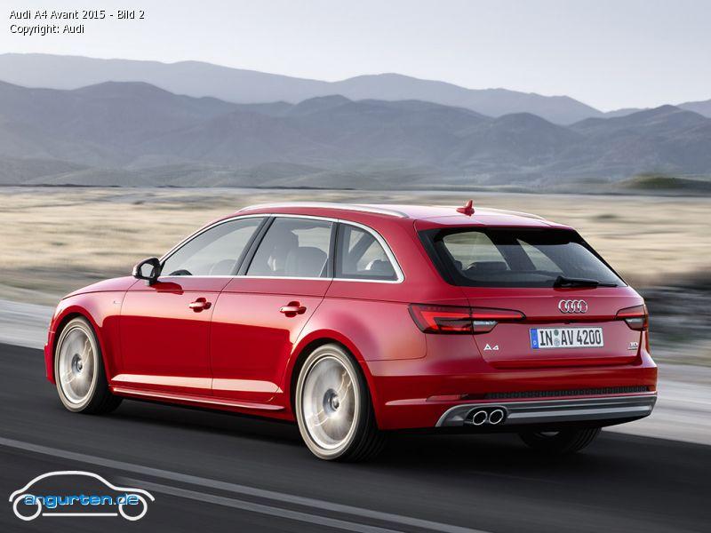 Foto Audi A4 Avant 2015 Bild 2 Bilder Audi A4 Avant