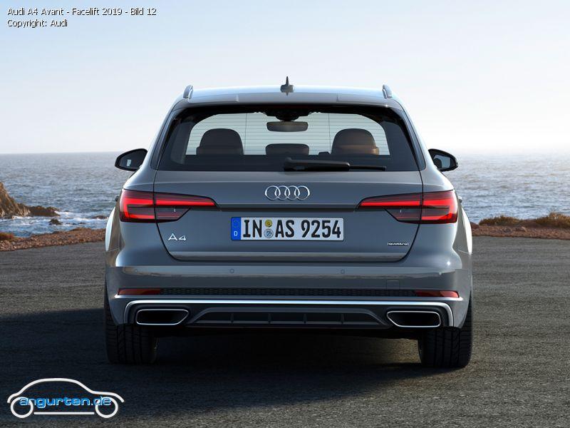 Foto Bild Audi A4 Avant Facelift 2019 Bild 12