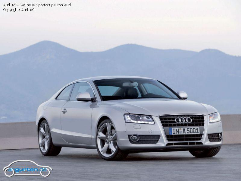 Foto Audi A5 Das Neue Sportcoupe Von Audi Bilder Audi